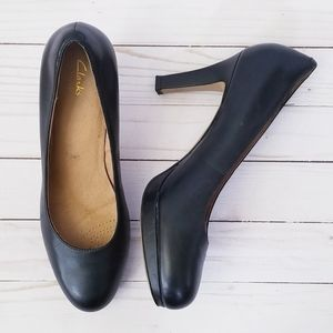 Clarks Platform Heels